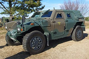 JGSDF Light Armored vehicle 20120108-01.JPG