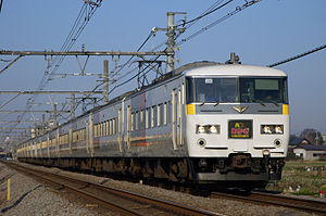 Akagi (train) - Image: JR East 185 200 Limited Express Akagi