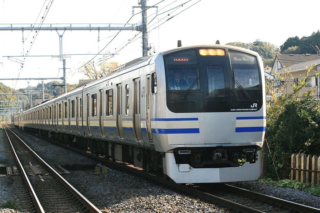 JR East E217 Series Yokosuka Line version