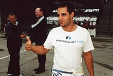 Montoya z Williamsom v sezoni 2002