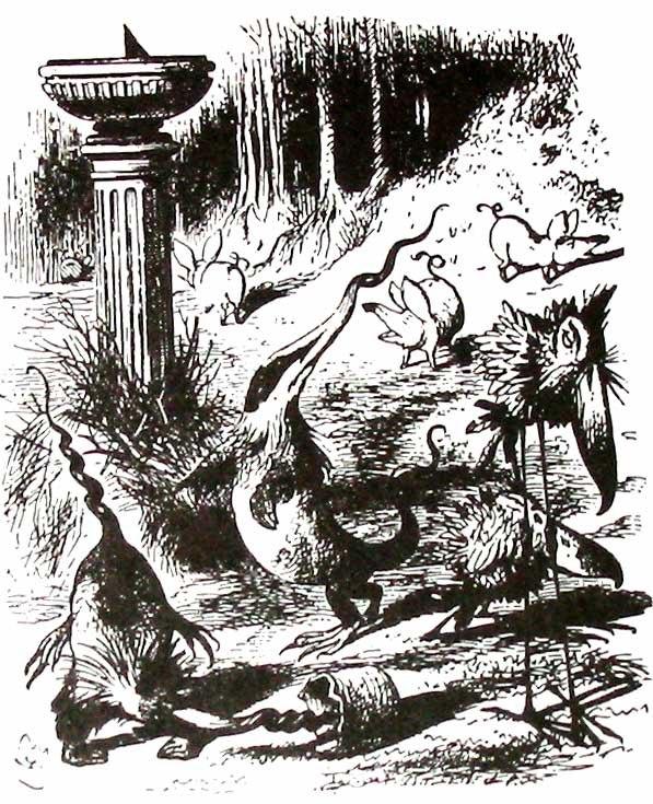 Jabberwocky creatures