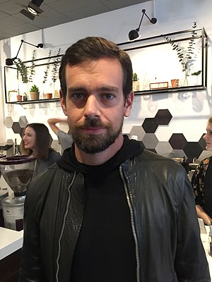 Jack Dorsey - Dorsey at a London cafe in November, 2014