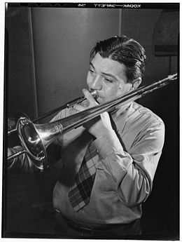 Jack Teagarden, Victor studio, New York, N.Y., ca. Apr. 1947 (William P. Gottlieb 08391).jpg