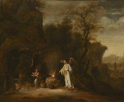 기드온과 천사 (Jacob de Wet II)