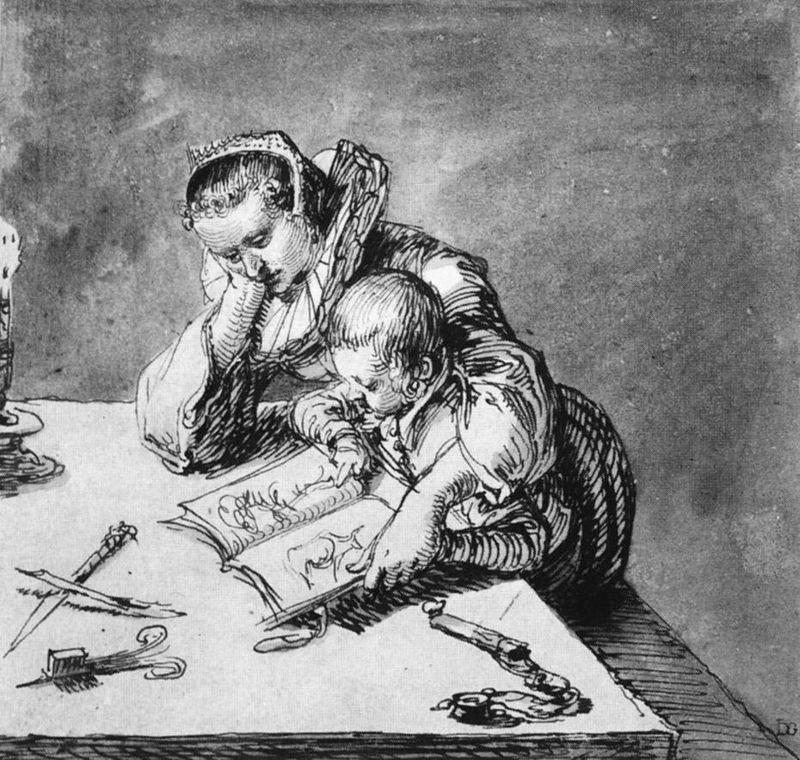 Grabado de Jacob de Gheyn