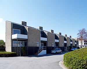 Søholm Row Houses - Image: Jacobsen Søholm II houses