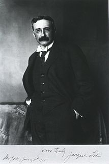 Jacques Loeb German-born American physiologist and biologist