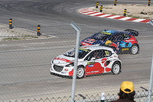 2014 World RX of Portugal - Jacques Villeneuve and Timur Timerzyanov
