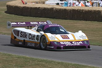 Sports prototype - The Jaguar XJR-8, Group C, produced over 700 horsepower.