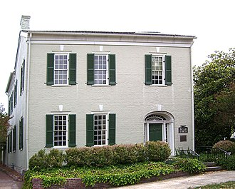 Columbia, Tennessee - The James K. Polk Home in Columbia is the only one of President Polk's private homes that is still standing