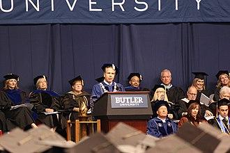 James Danko - James Danko at Butler 2016 graduation