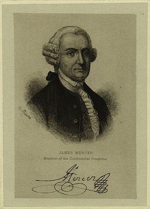 James Mercer (jurist) - Image: James Mercer of Virginia