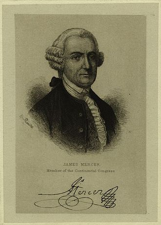 James Mercer (jurist) - Image: James Mercer of Virginia