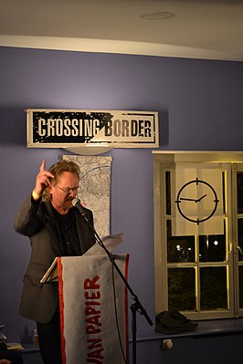 Jan Kuipers tijdens Crossing Border 2011