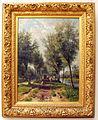 Jan Willem van Borselen (1825-1892), De weg van Polsbroekerdam, 1860, Olieverf op doek.JPG