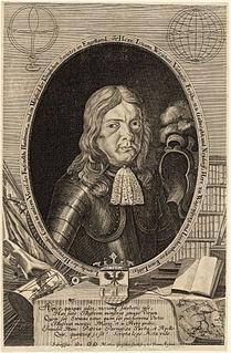 Johann Weikhard von Valvasor Carnolian scientist