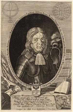 Johann Weikhard von Valvasor - Valvasor in 1689