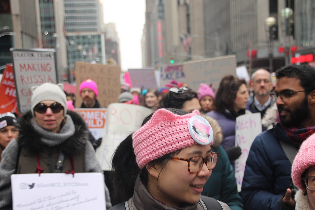 January 2019 Women's Alliance march in NYC (31864606527).jpg