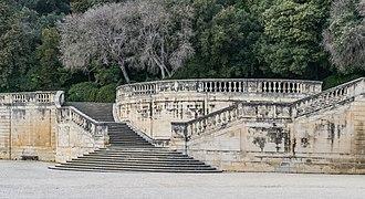 Jardins de la Fontaine in Nimes 03.jpg