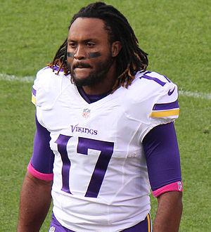 Jarius Wright - Wright in the 2015 NFL season.