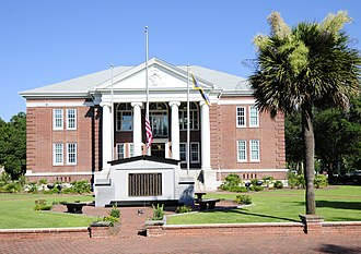 Jasper County, South Carolina - Image: Jasper County Court House