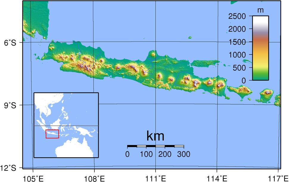 Java Topography