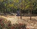 Jawaharlal Nehru University 100m sign.jpg