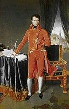 Jean Auguste Dominique Ingres, Portrait de Napoléon Bonaparte en premier consul