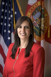 Jeanette Nuñez 20th Lieutenant Governor of Florida