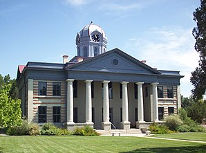 Courthouse des Jeff Davis County