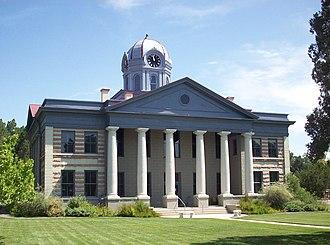 Jeff Davis County, Texas - Image: Jeff Davis County Courthouse