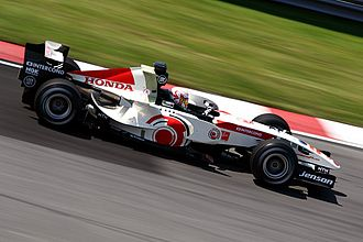 2006 Canadian Grand Prix - Jenson Button out-qualified his Honda teammate Rubens Barrichello and took the eighth place on the grid.