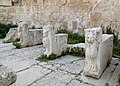 Jerash - Macellum sculptures.jpg