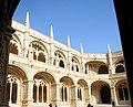 Jeronimos Monastery Cloisters, Belem, Portugal - panoramio (2).jpg