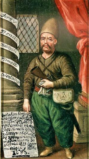 Jerzy Franciszek Kulczycki - Portrait of Kulczycki in Turkish attire, Czartoryski Museum