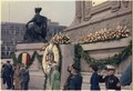 Jimmy Carter lays a wreath at the Mexican Independence Monument during state visit to Mexico. - NARA - 183486.tif