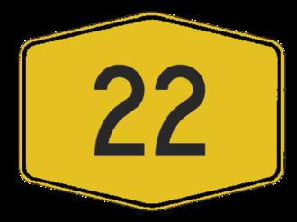 Pan-Borneo Highway - Image: Jkr ft 22