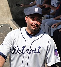 Joaquín Benoit with the Detroit Tigers in 2011