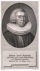 Johann Jakob Rambach -  Bild