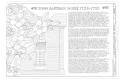 John Bartram House and Garden, House, 54th Street and Lindbergh Boulevard, Philadelphia, Philadelphia County, PA HALS PA-1-A (sheet 1 of 11).png