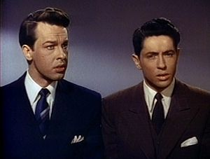 Rope (film) - John Dall and Farley Granger from the film's trailer