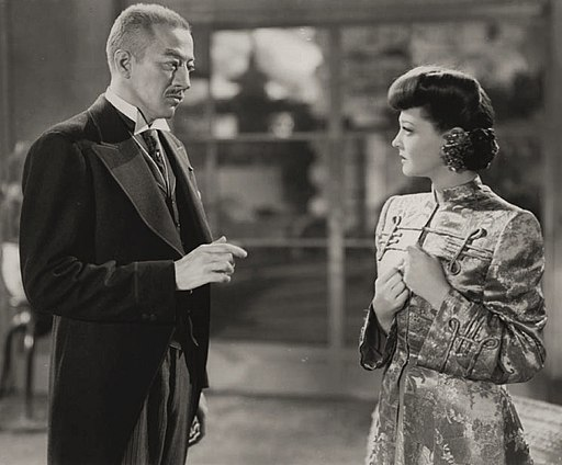 John Emery-Sylvia Sidney in Blood on the Sun