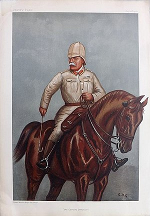 John French, 1st Earl of Ypres - French caricatured by GDG for Vanity Fair, July 1900