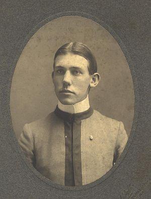 Skeggs Point (California) - Possible portrait of Colonel Skeggs in his Alabama Polytechnic Institute (now Auburn University) uniform, circa 1901.