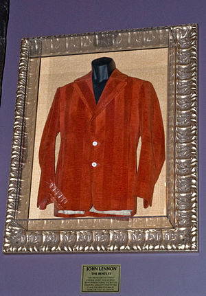 Hung On You - Hung On You jacket tailored for John Lennon and worn by him during the Beatles Hamburg, Germany Tour, 1966