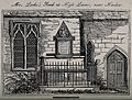 John Locke's tomb, in the parish of Laver, near Otes Manor, Wellcome V0018881.jpg