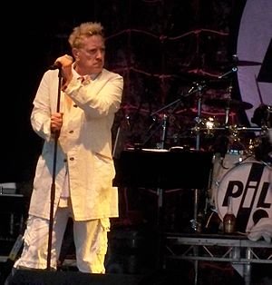John Lydon - John Lydon onstage with PiL at Guilfest 2011