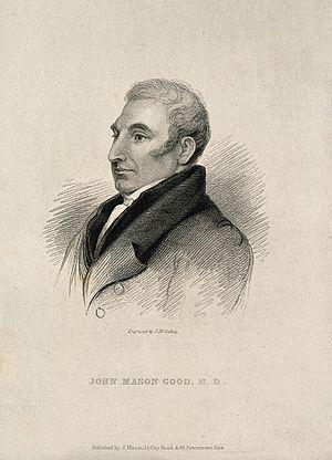 John Mason Good - Engraving
