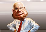 John McCain - Caricature (15023968319).jpg