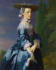 Portrait of Sarah Allen, ne Sargent (1729-1792)